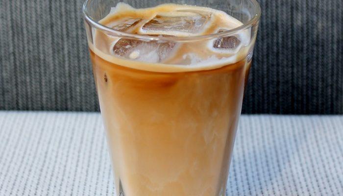 Iskaffi utan mjølk