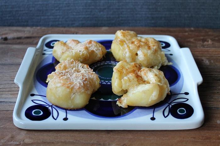 Gratinerte potetrester